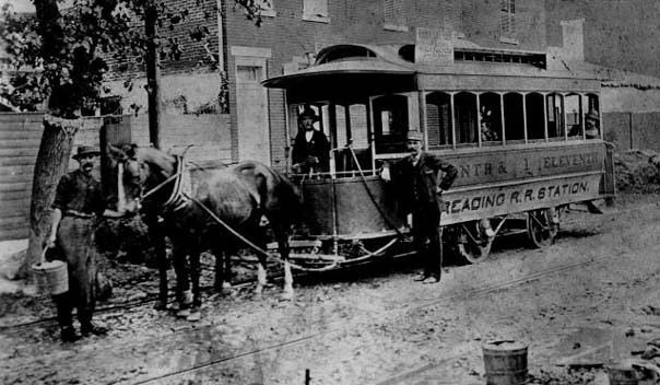 Horsecar: <FONT face=Geneva,Arial,Sans-Serif color=red size=2>Print and Picture Collection, Free Library of Philadelphia</FONT>