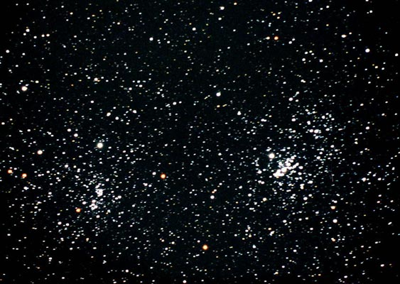 double-cluster: