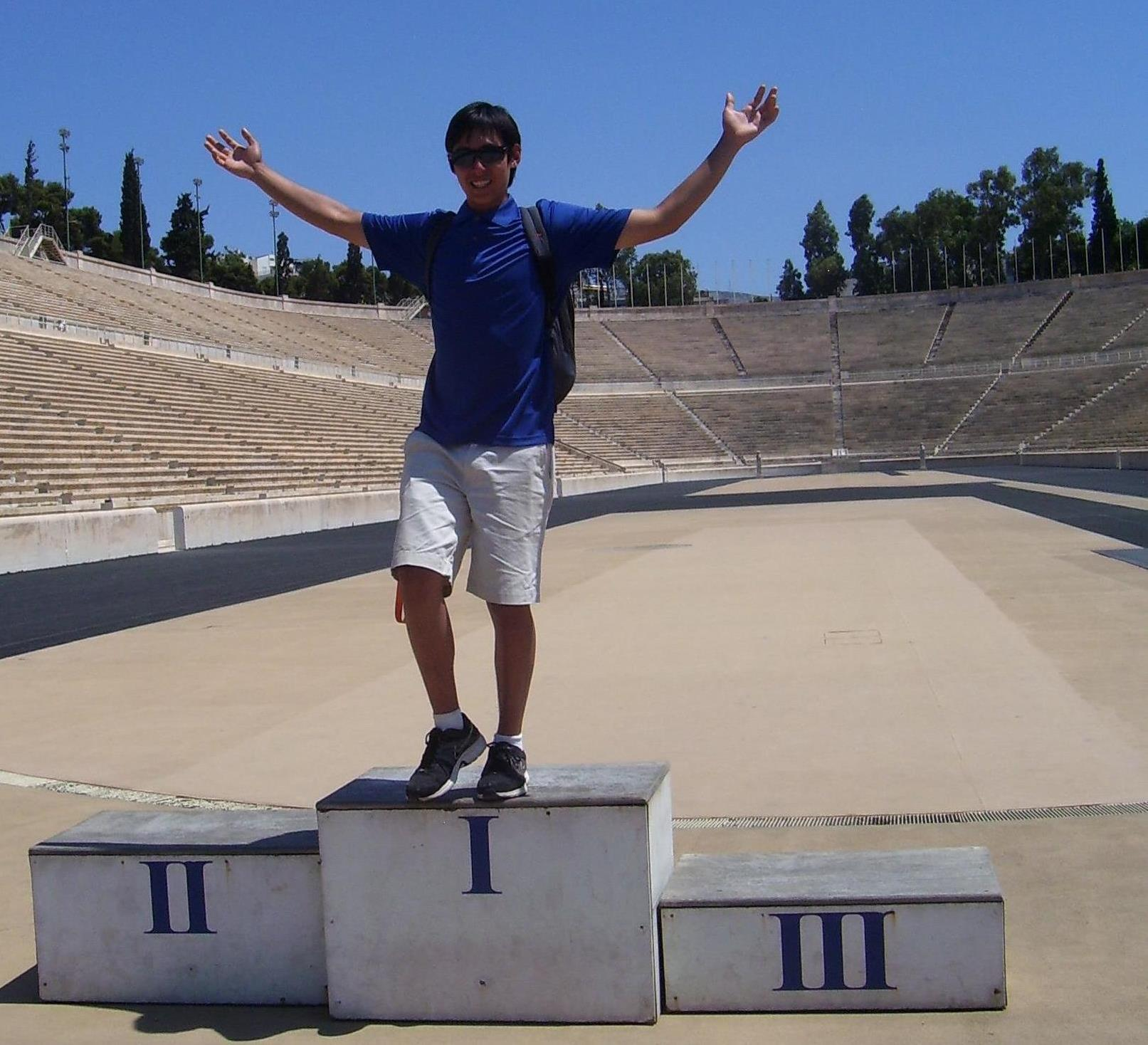 RoyAtPanathenaicStadium.jpg: